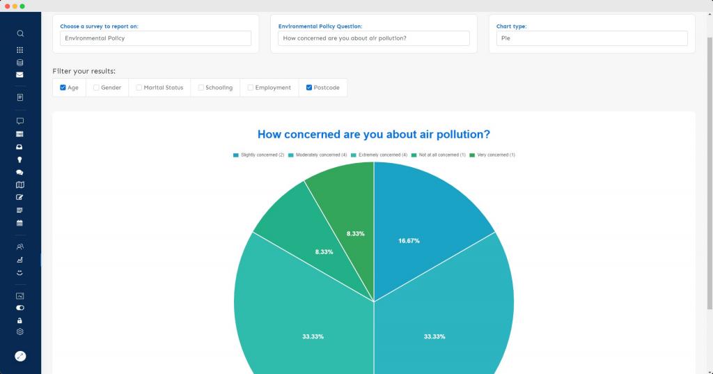 Survey Data Filtering